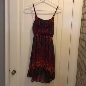 Buckle day trip high low dress size extra small